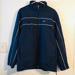 Nike Sports Swoosh Performance Full Zip Blue Track